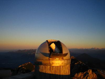 Old dome of the Wendelstein 40-cm telescope