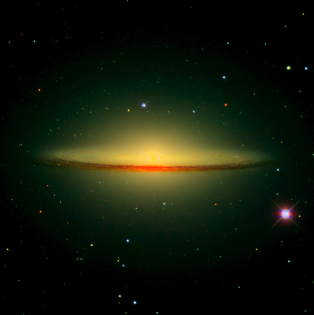 Sombrero Galaxy M104 Planet - Pics about space